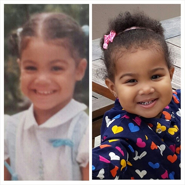 Mother and Daughter at 18 months old | Yendi Phillipps Fan ...