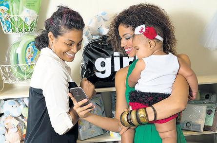 Yendi Phillips Daughter Yendi And Her Daughter Israel